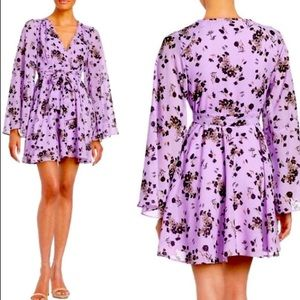 Free People Lilou purple dress